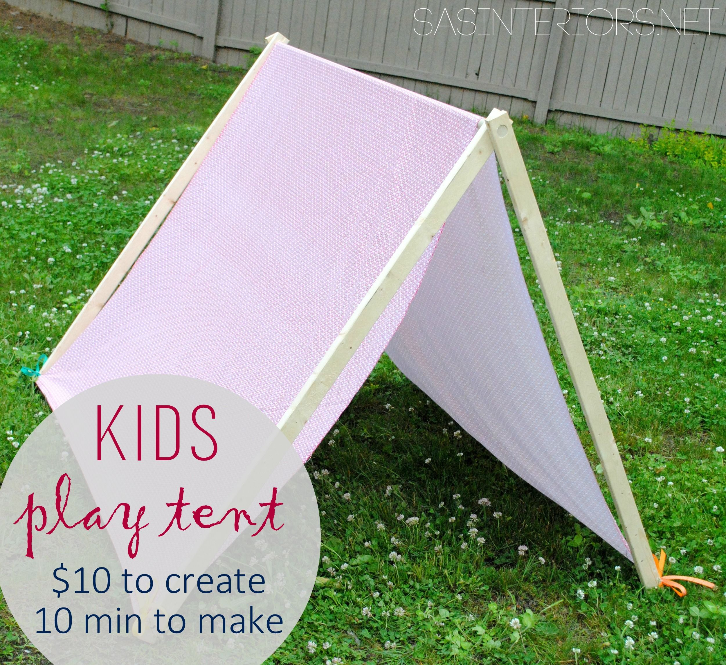 Kids Play Camping Tent