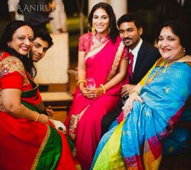 Dhanush Family Photos With Kids Dhanush and his family...