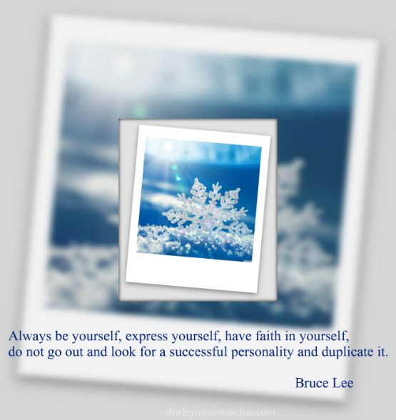 Are you being the best version of you? Embrace your inner qualities and shine baby shine :-)