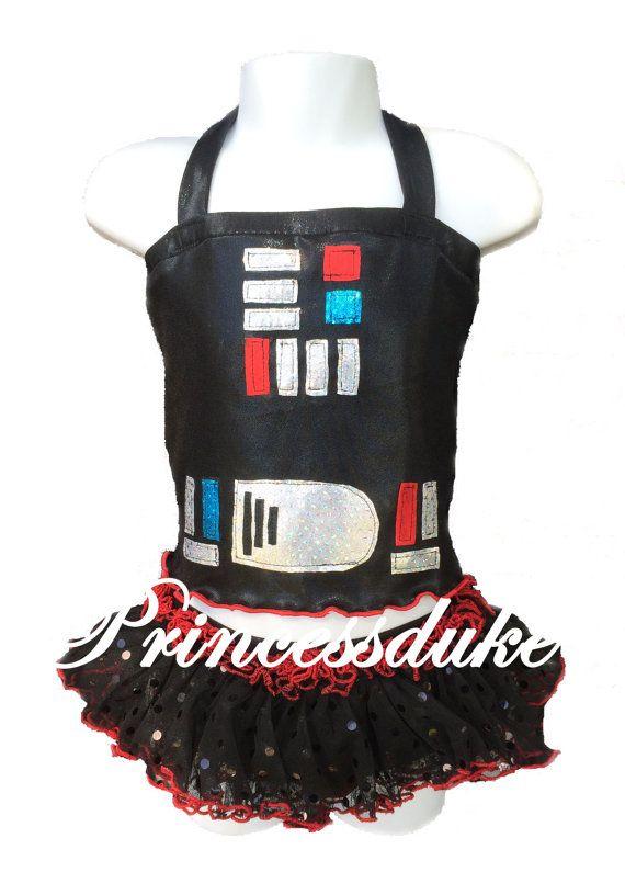 Darth Vader Inspired Princessduke Birthday Tankini by princessduke