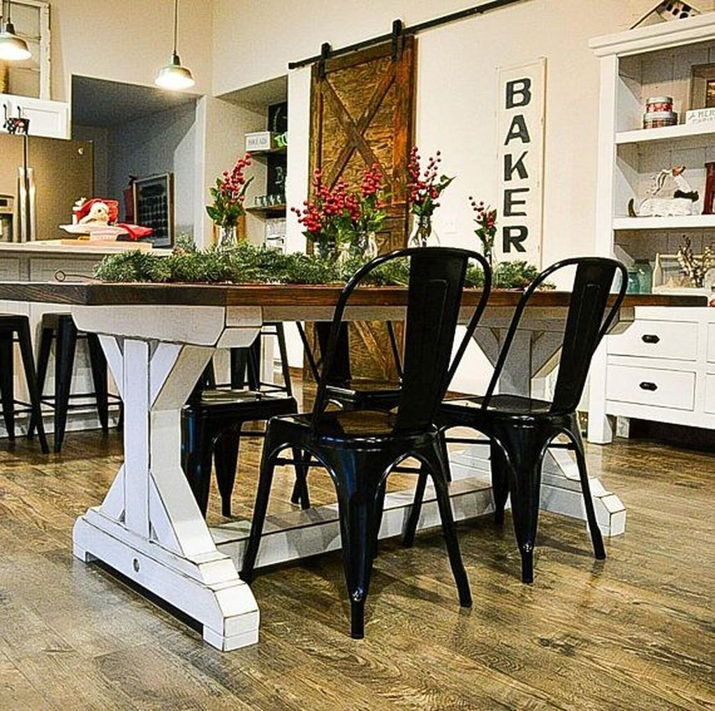 40 great farmhouse kitchen tables ideas perfect for your ordinary kitchen dining furniture on farmhouse kitchen table diy id=98309