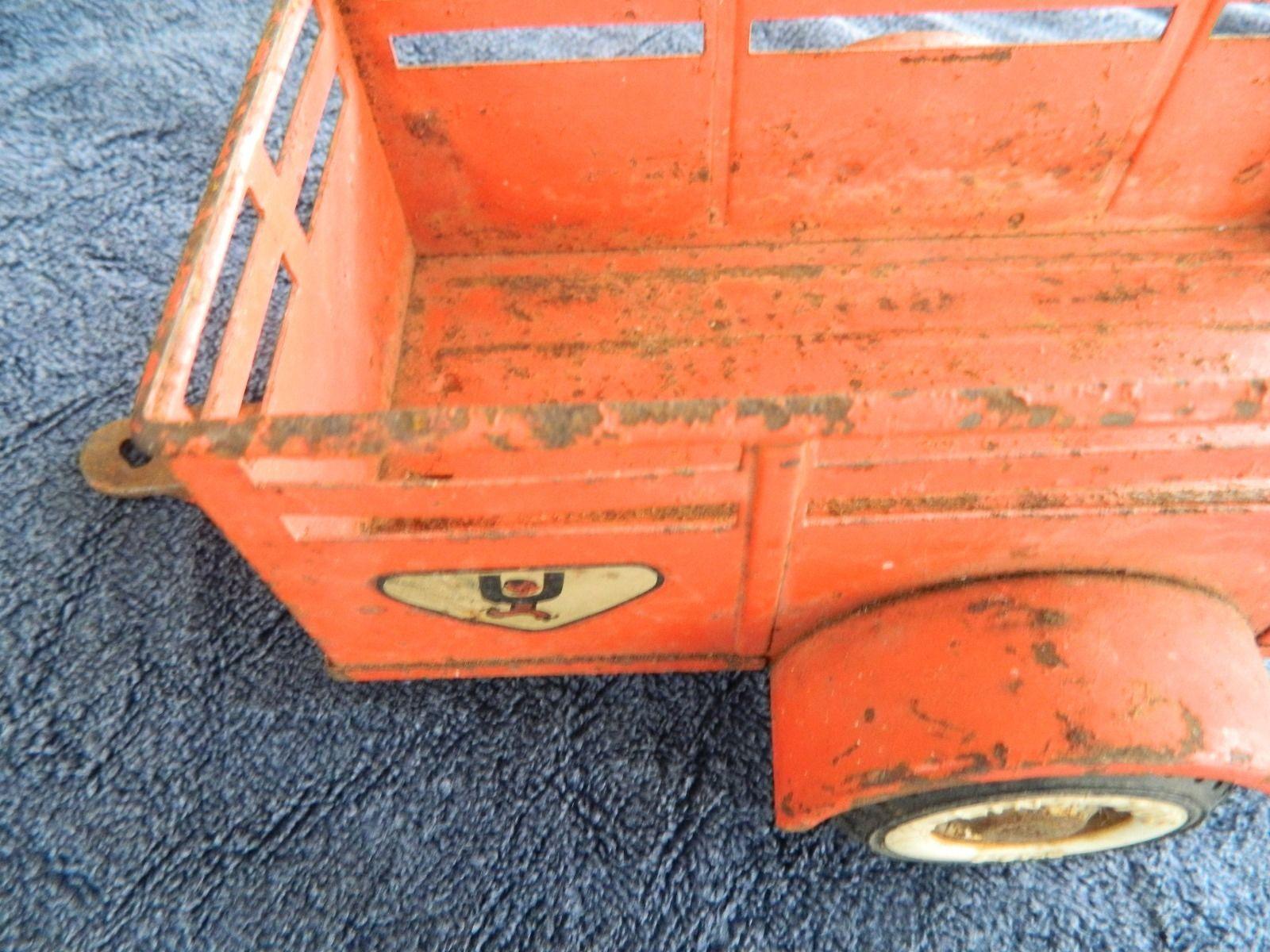 Lot Vintage Toys Two Nylint Ford U Haul Trailers Buddy L Dump Auburn Hubley | eBay