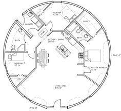 Exceptionnel Hobbit Home Floor Plan