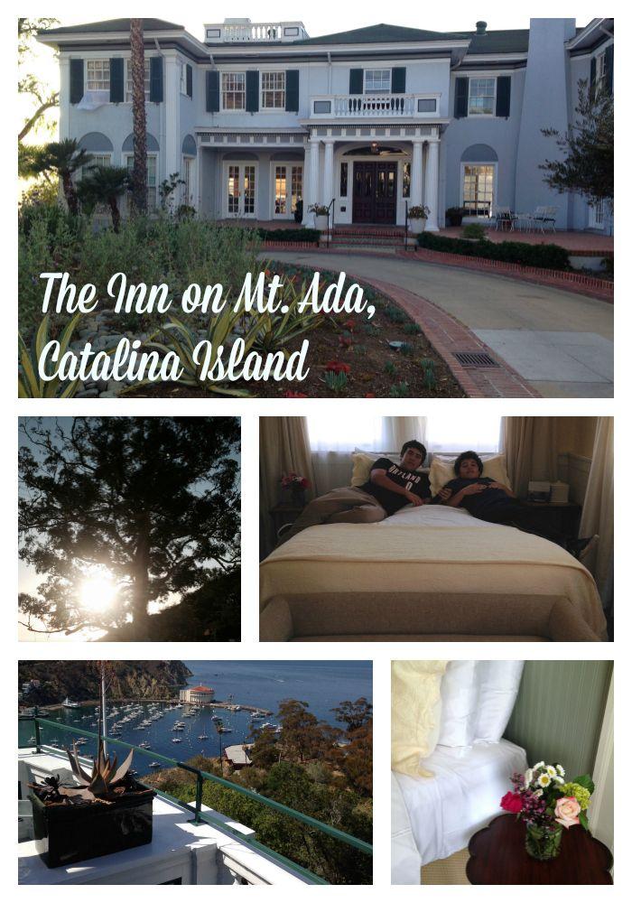 Lodging On Catalina Island The Inn On Mt Ada Momsla Catalina Island Hotels Catalina Island Island Inn