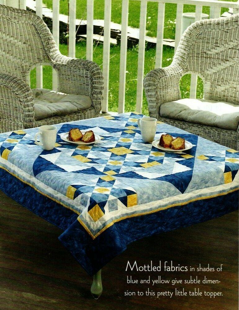 Batik Squares Quilt Pattern Pieced MC