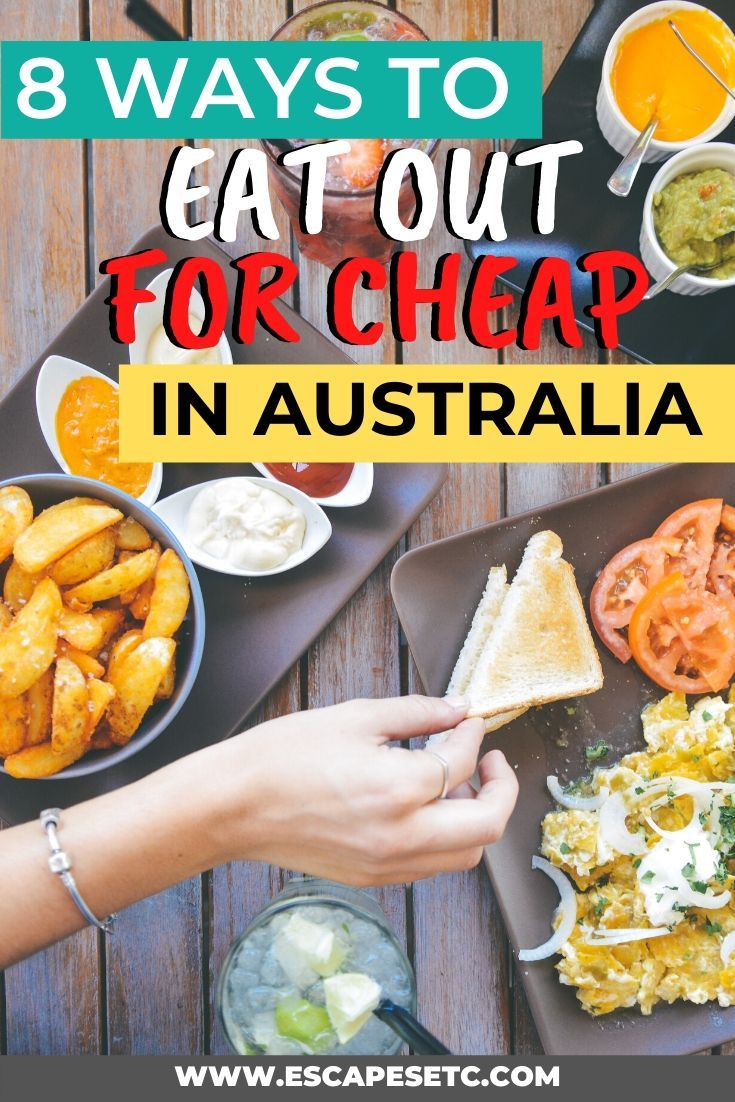 Travelling Australia on a budget? Here's how to eat out