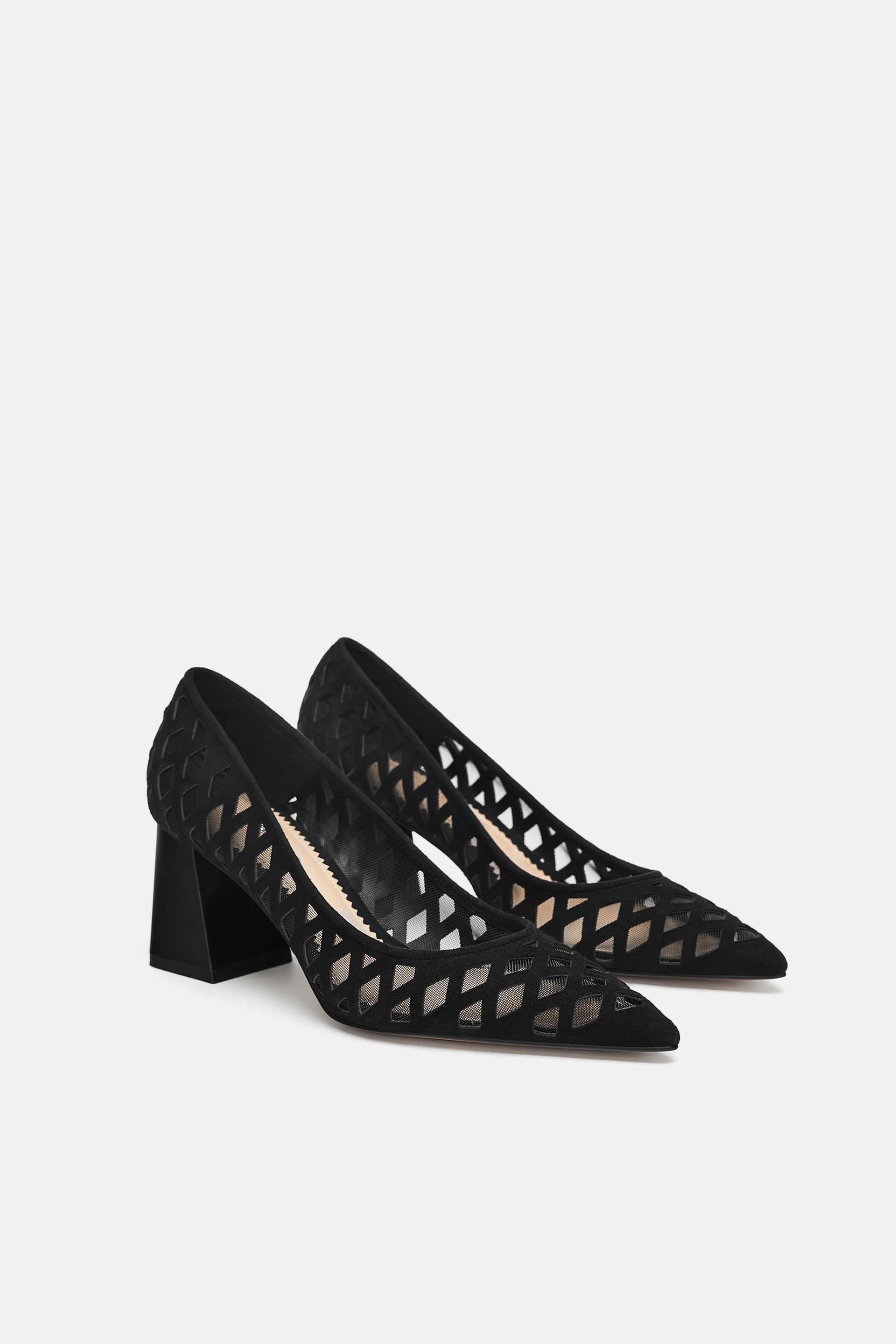 3ff2bda38df Image 1 of FANCY LEATHER PUMPS from Zara | Get In My Closet ...