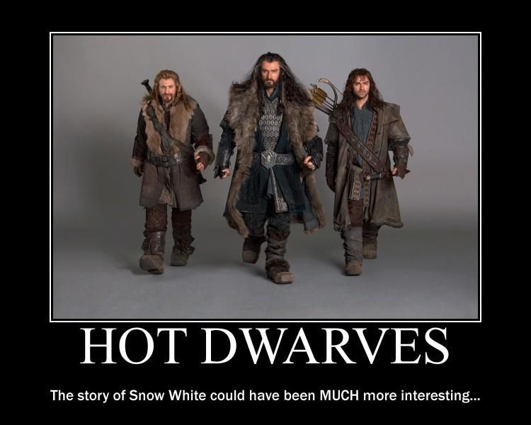 Hot Dwarves.  Snow White didn't know what she was missing.                                                                                                                                                     More