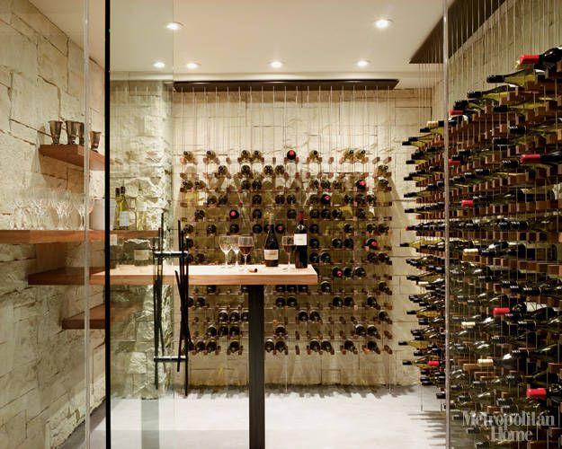 Idea House Glass Wine Cellar Home Wine Cellars Cellar Design