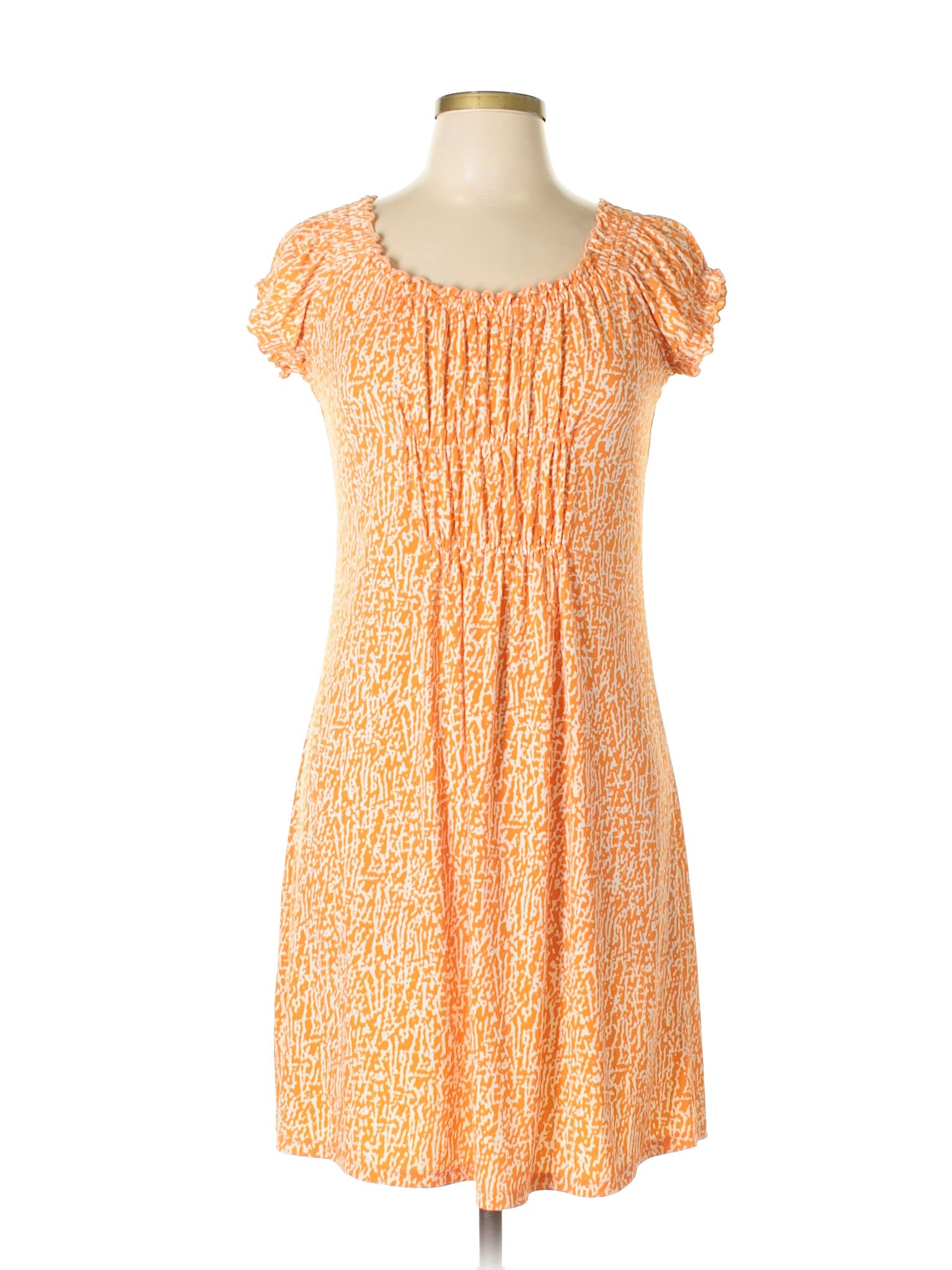 Orange dress casual  Casual Dress  Products  Pinterest  Michael kors Free shipping