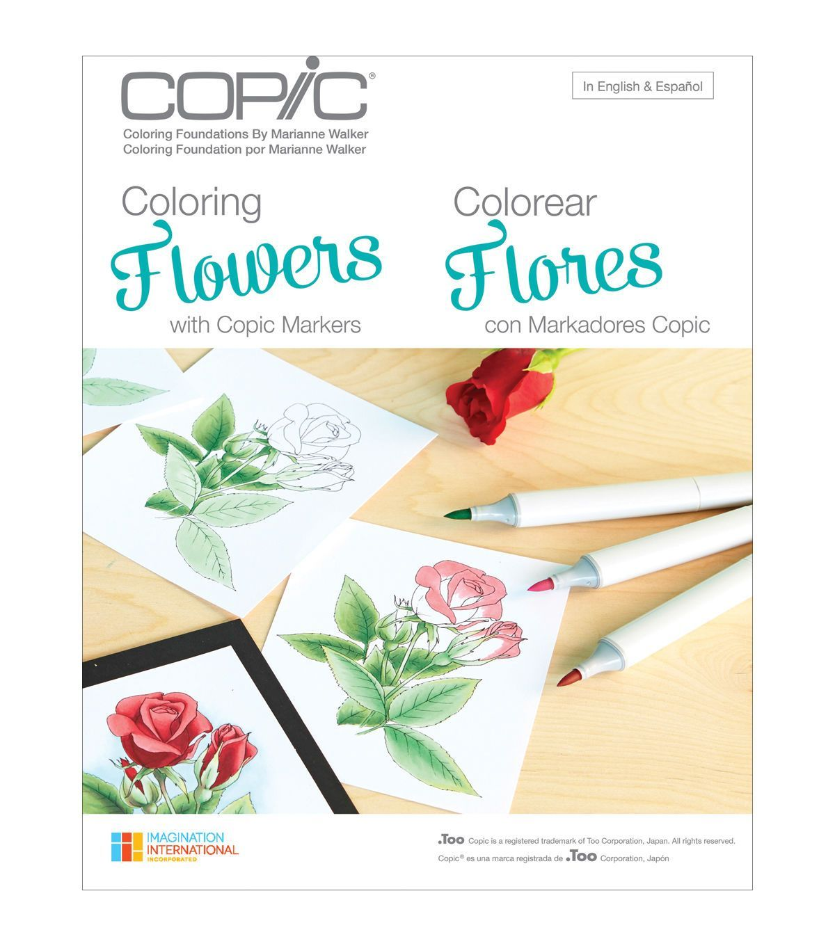 Learn How To Color Professionally From The Marianne Walker Coloring Flowers Book This Has