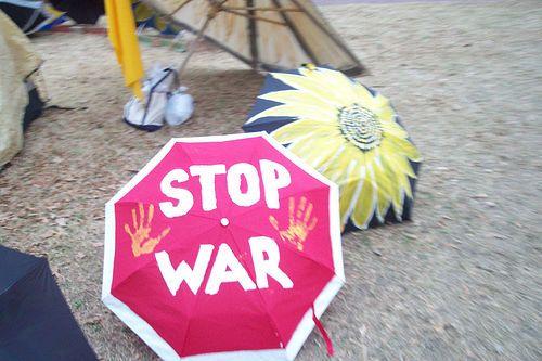 more peace umbrellas by shy light, via Flickr