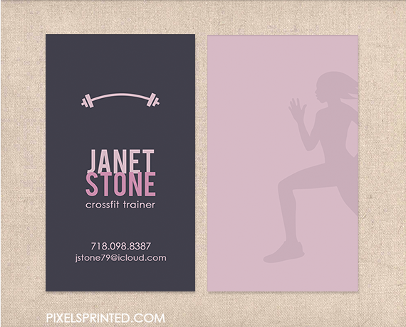 Personal trainer business cards identit visuelle pinterest personal trainer business cards colourmoves