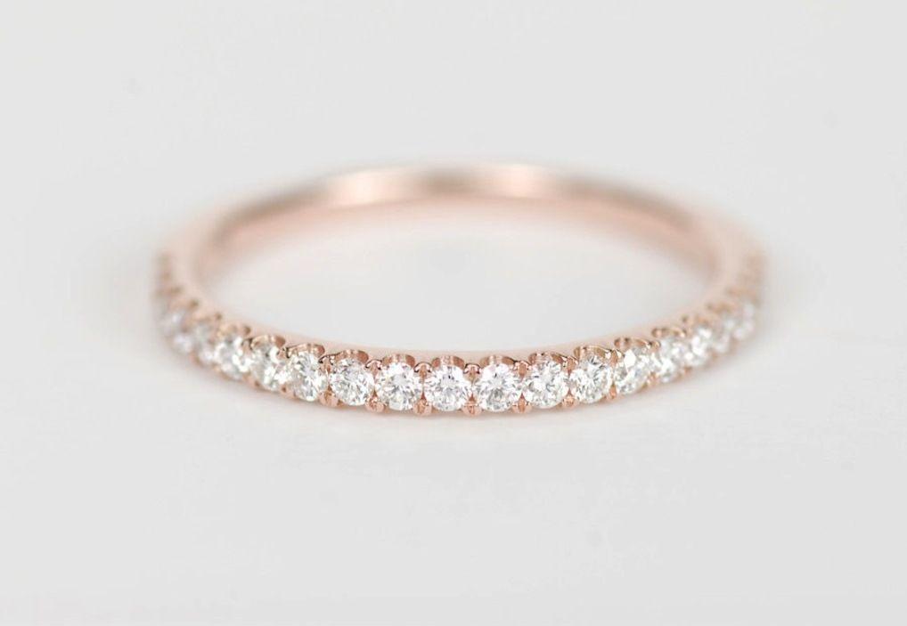 21 Beautiful Rose Gold Wedding Bands Diamond Wedding Bands Wedding Ring Bands Gold Wedding Band