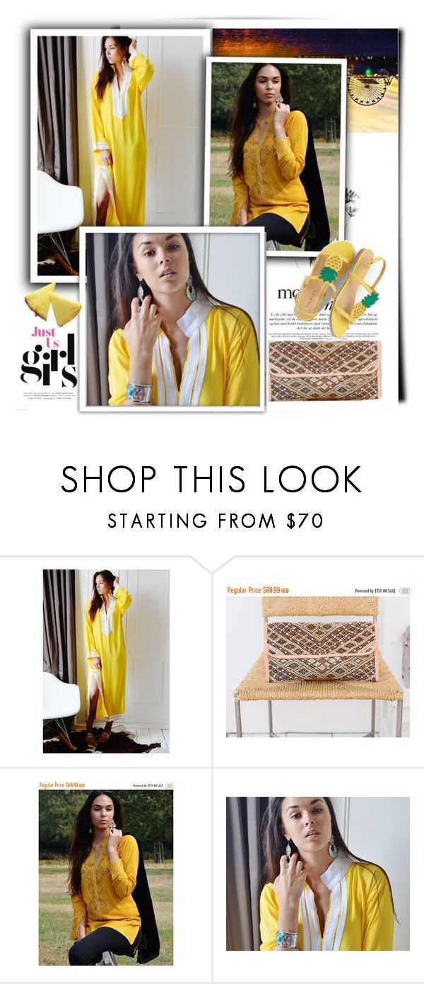 """""""MaisonMarrakech  4"""" by k-lole ❤ liked on Polyvore featuring Talbots"""