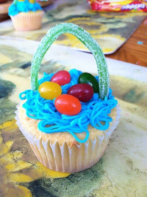Check out my Easter cupcakes!