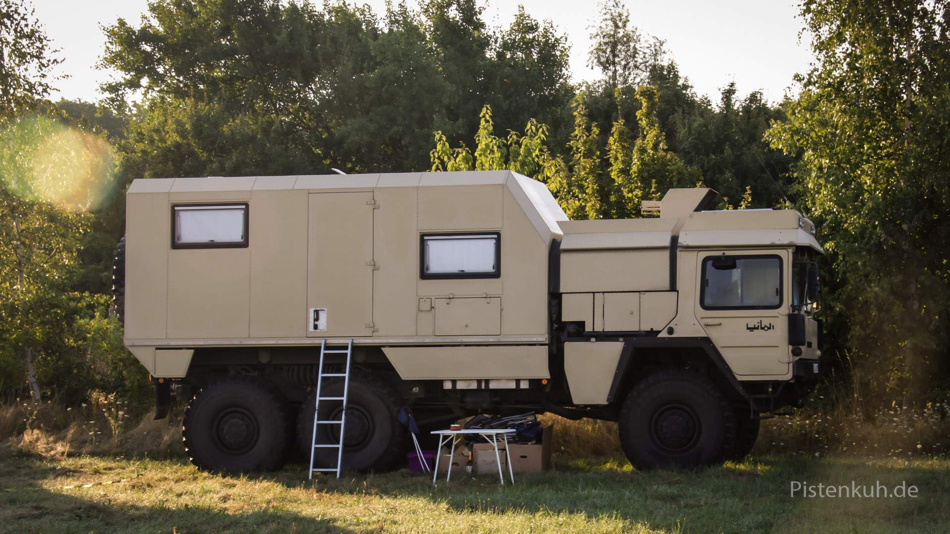 6x6 MAN KATCamper | Expedition vehicle, Expedition truck ...