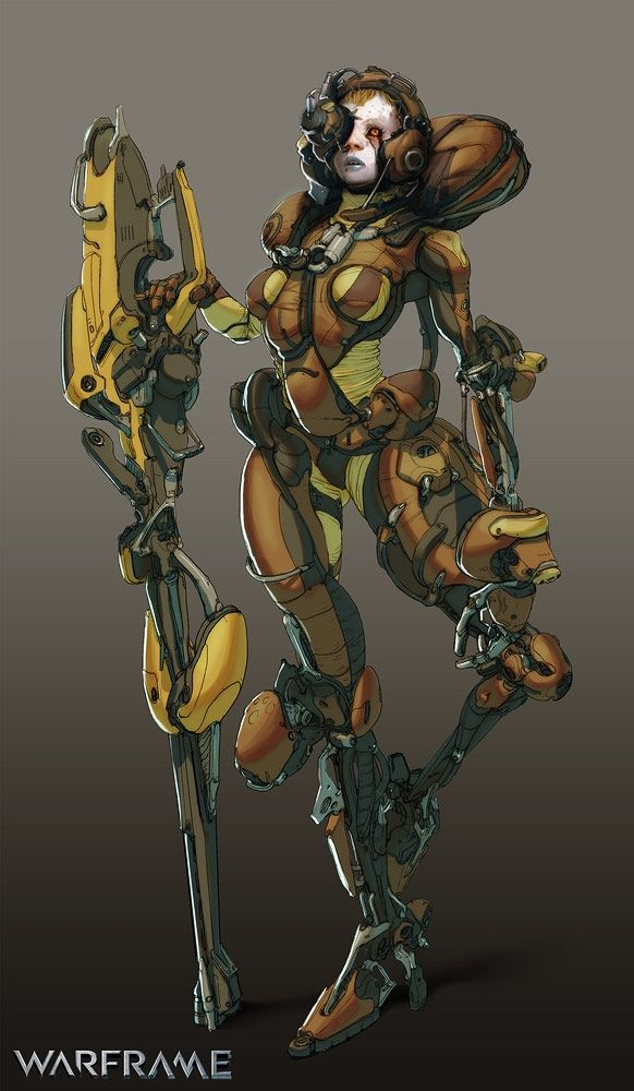 Image result for warframe kela concept art
