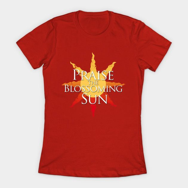 Praise The (blossoming)sun! Womens T-Shirt