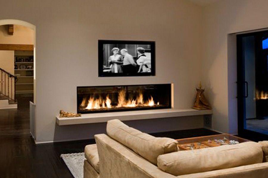 Residential Fireplaces Montigo Tv Above Fireplace Linear Fireplace Fireplace