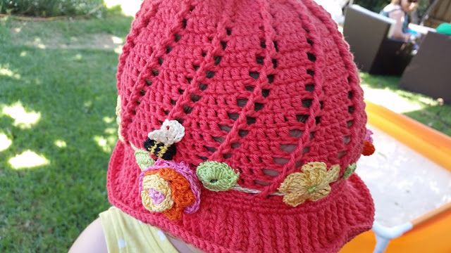 4baed5e60 Russian Little Girls Cloche Hat Pattern- the spiral one!   Free ...