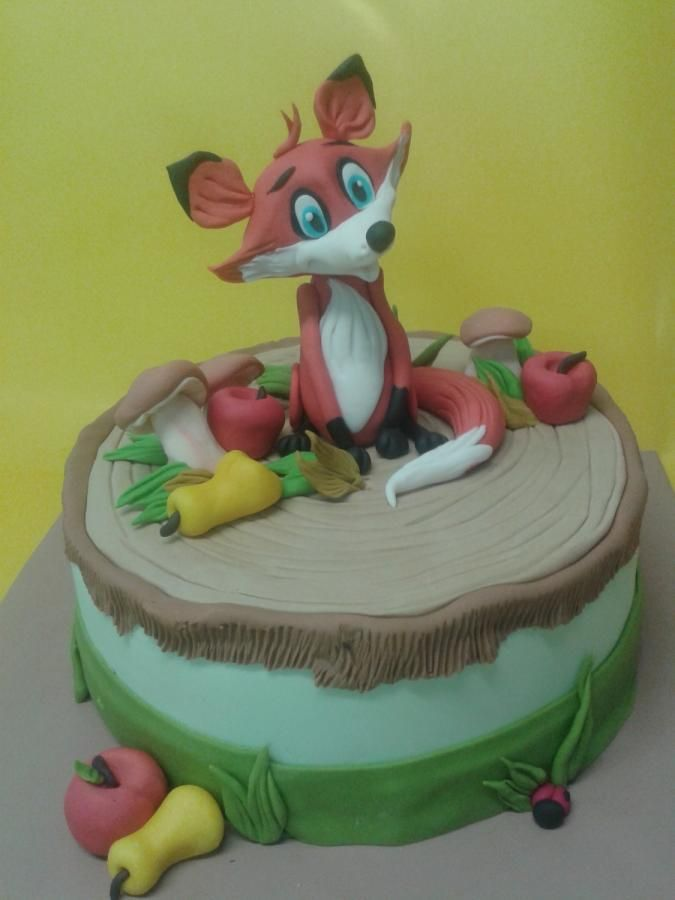 little fox - Cake by martina bikovska