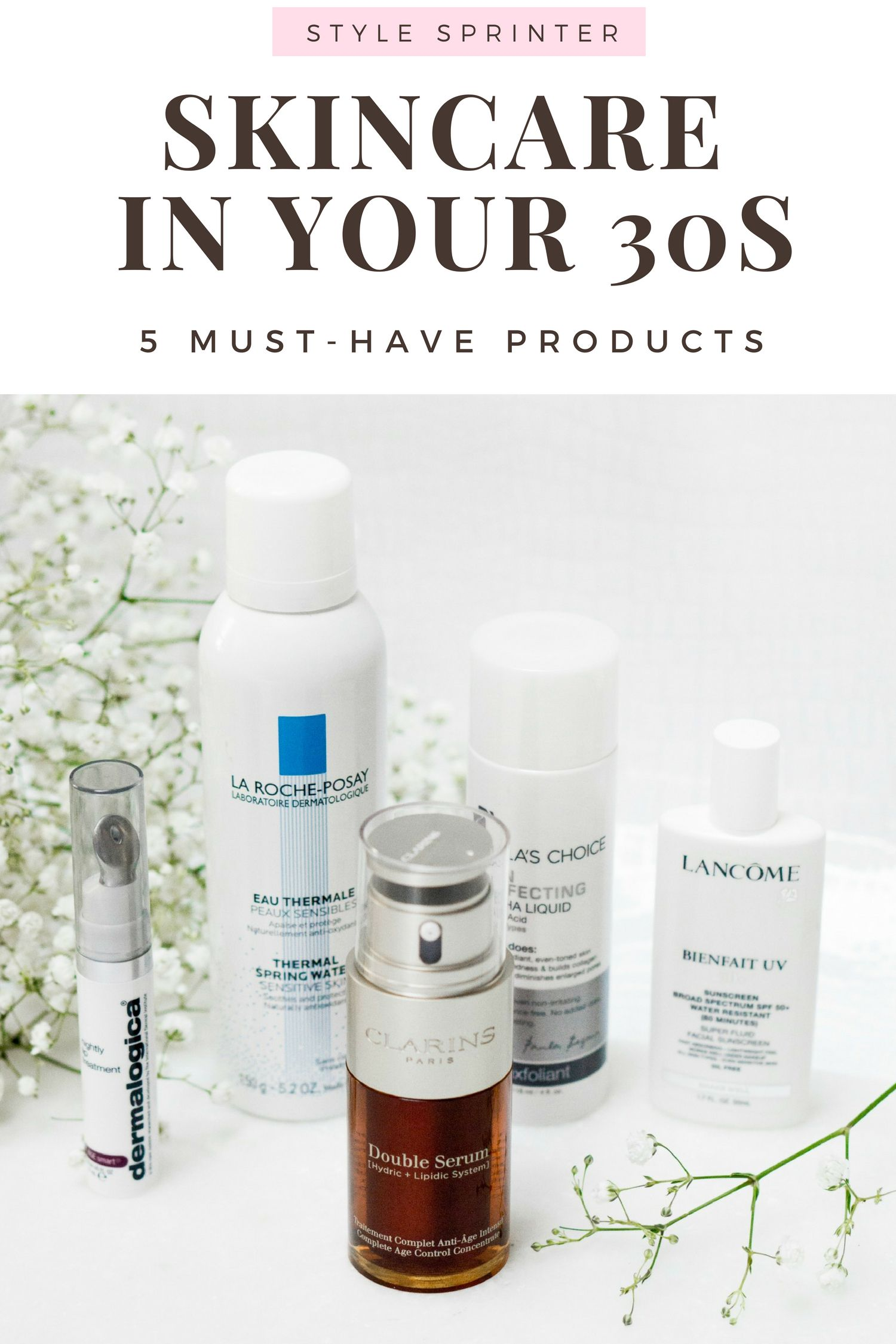 Best Skincare To Use In Your 30s Skin Care Skin Care 30s Best Skincare Products