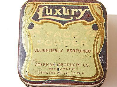 LUXURY-FACE-POWDER-TIN-CAN-POST-1920-ERA
