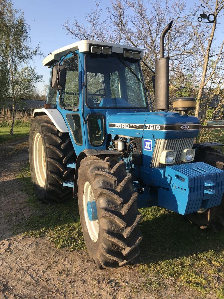 Foto Ford 7610 1290781 Tractor Landbouwmachines Ford