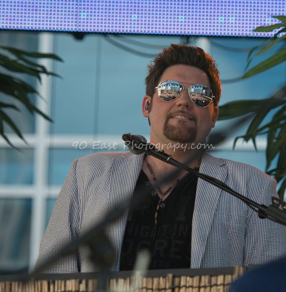 Joe Arick (Jake Owen keyboard player), CMA Fest 2014, Nashville, TN