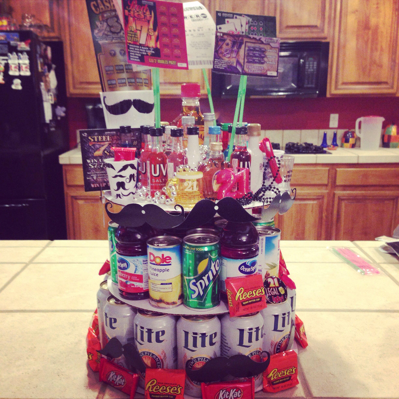 Beer cake for 21st birthday 21st birthday beer cake