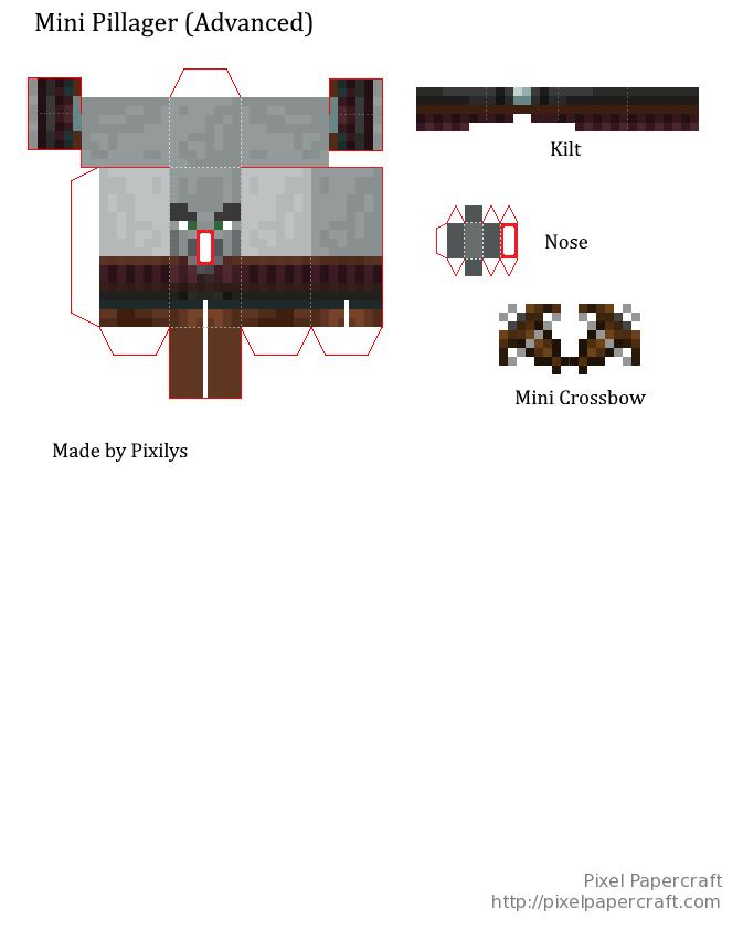 minecraft bastelvorlagen steve  printable minecraft