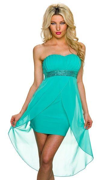 82eab0d97 Vestido verde con cola 32.95€