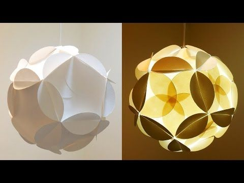 Shadow Star Lamp How To Make A Spherical Lampshade Covered With