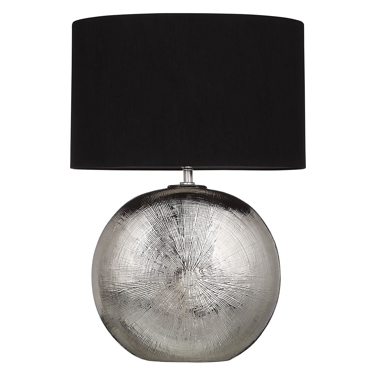 Benjamin chromed ceramic table lamp ceramics ceramic table and benjamin chromed ceramic table lamp ceramic table lampsjohn lewisdining geotapseo Image collections