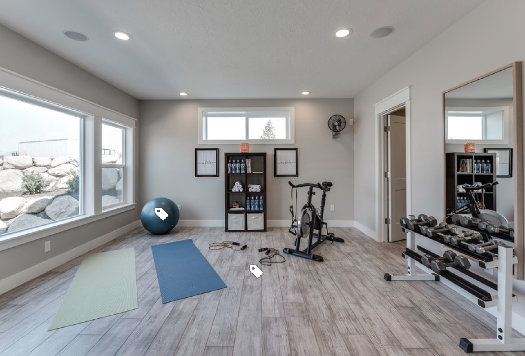 Pin By Emily Arce On Home Design Gym Room At Home Workout Room Home Home Gym Flooring