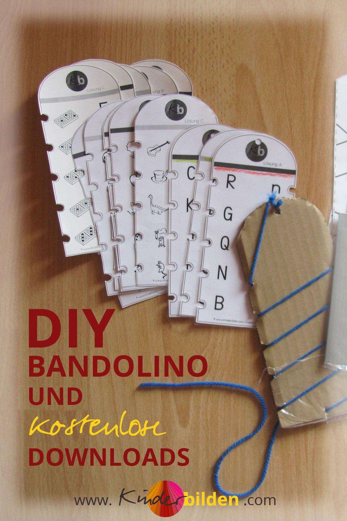 DIY Bandolino | Schritt-für-Schritt-Anleitung Lernspiel ...