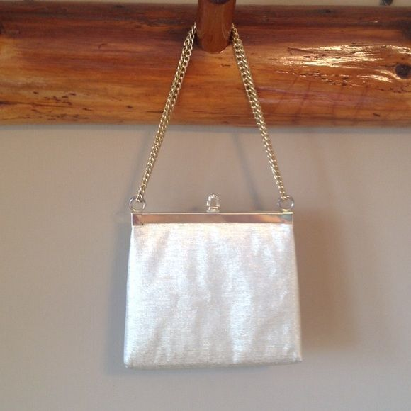 Little Gold Bag 61 2 Wide X 6 Tall The Chain Is