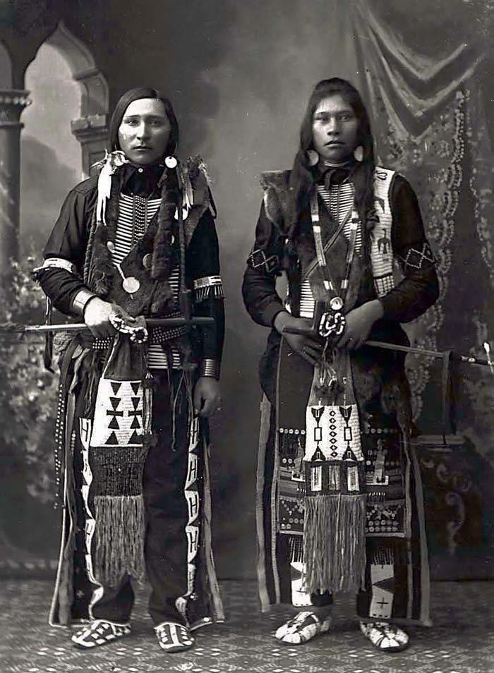 Ralph Willet Dixey (Bannock tribe ), Peter Jim (Shoshone tribe ) - 1897
