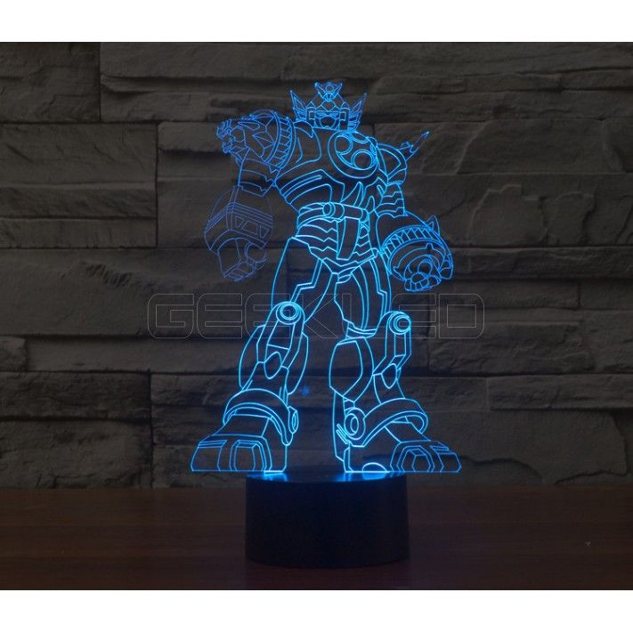 3d Optical Illusion Lamp Night Light Transformers Geekled Gift 3d Night Light 3d Illusion Lamp Star Wars Lamp