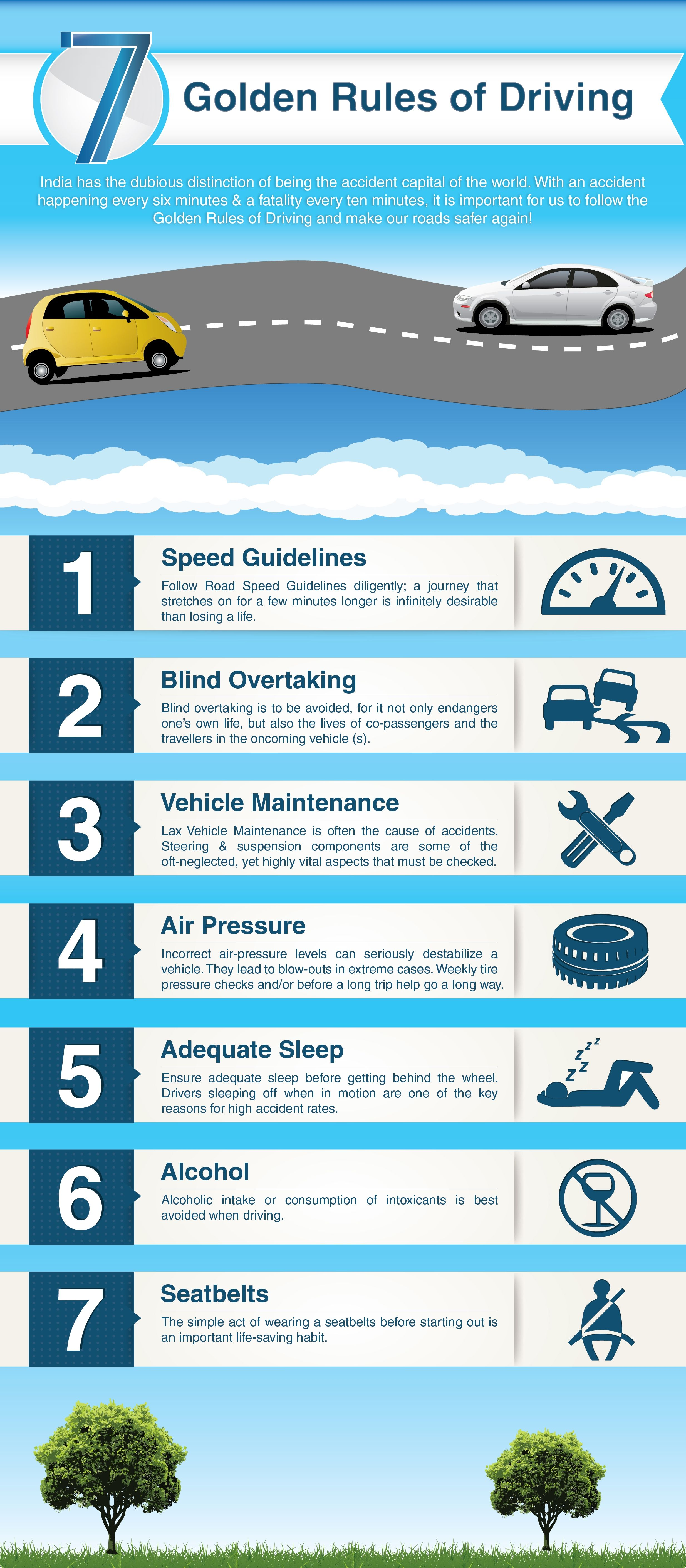 7 Most Important Must Follow Rules And Guidelines For Driving