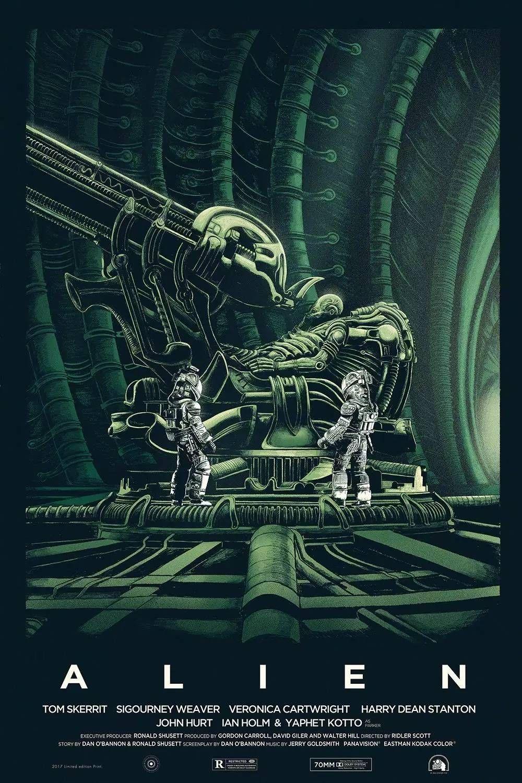 Alien, o Oitavo Passageiro   Cartaz