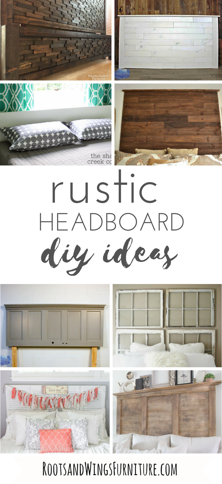 How To Make A Headboard 8 Diy Ideas Diy Wood Headboard Rustic