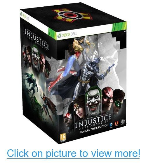 Injustice Gods Among Us Uk Euro Collector S Edition Xbox 360 W Euro Exclusive Statue Of Batman Choking Wonder Woman Injustice Batman Injustice Xbox 360