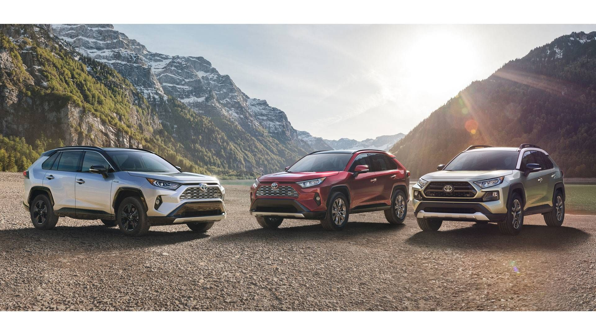 2019 Toyota Rav4 Xse Hybrid Limited And Adventure South Bay