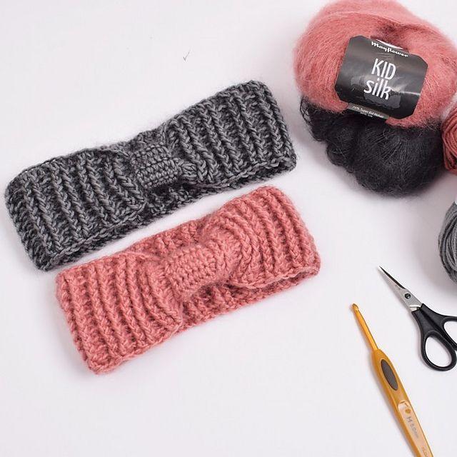 Ravelry: Crocheted Headband - Ribbed pattern by Hobbii ...