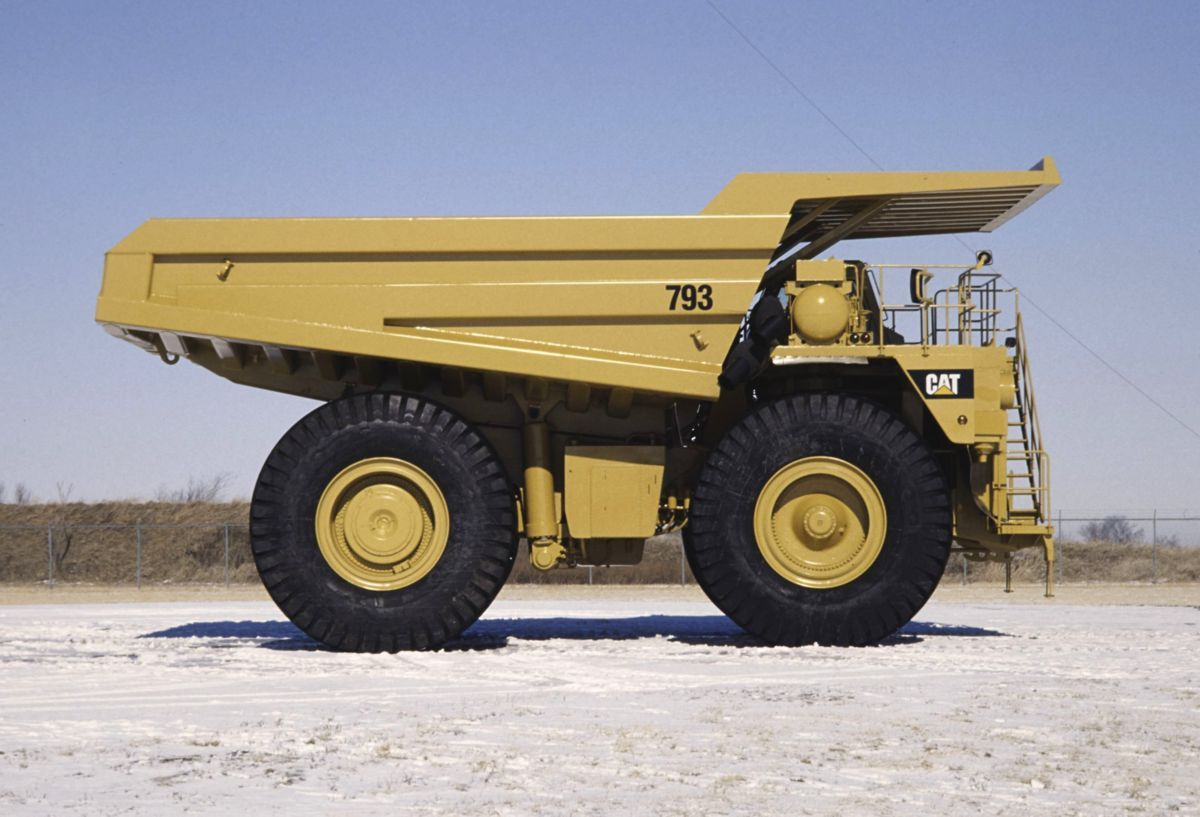 Cat Introduction of the 793 Caterpillar Trucks, Cats