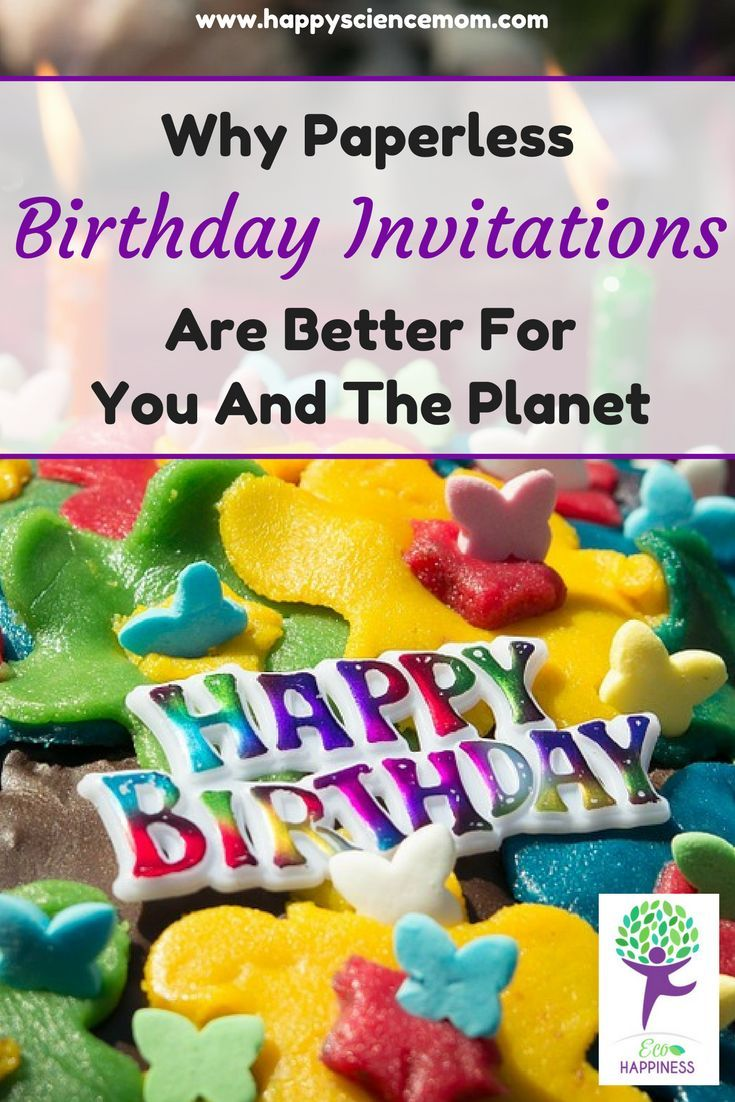 Invitation card reduce reuse recycle how to protect our birthday party ideas invitations birthday invitations paperless home paperless post online invitations childrens birthday cards childrens stopboris Gallery