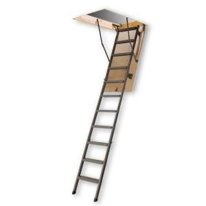 Attic Ladder Wooden Basic Lwn 22 1 2x54 250 Lbs 10 Ft 1 In Attic Ladder Attic Flooring Attic Design