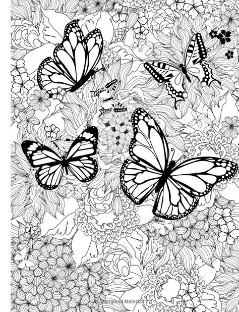 Pin By Nubia A On Paginas Para Pintar Butterfly Coloring Page Mandala Coloring Mandala Coloring Pages